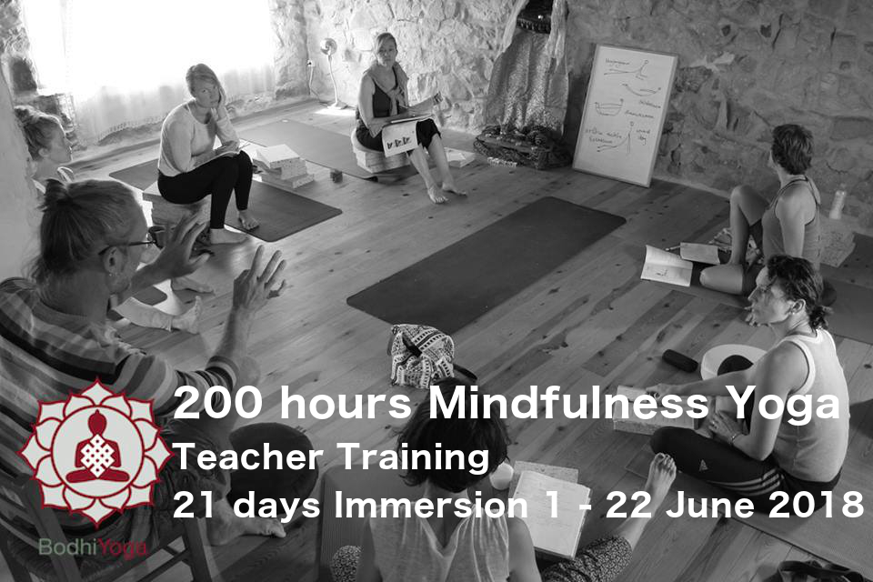 200 hours Certification Mindfulness Yoga Teacher Training 21 days Immersion