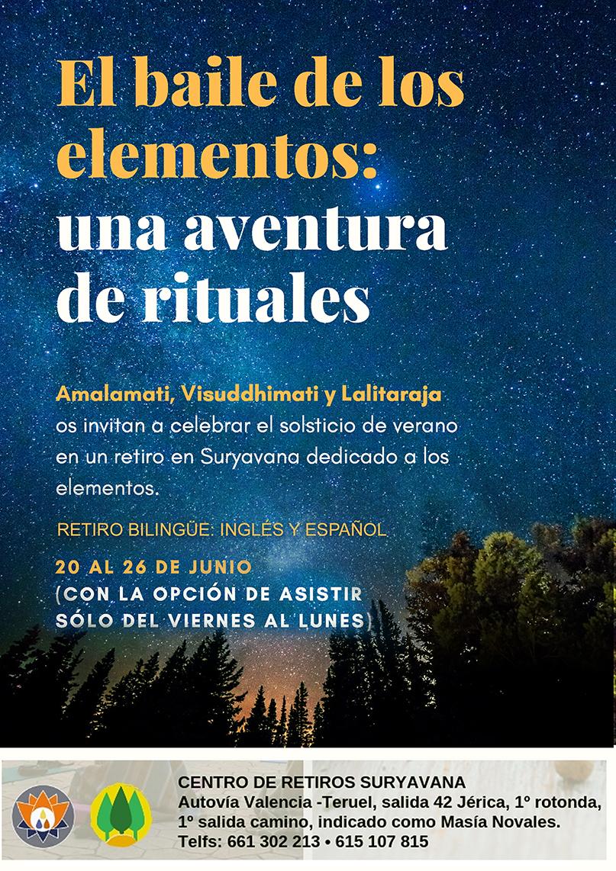 El baile de los elementos: una aventura de rituales :: The Dance of the Elements: A ritual adventure