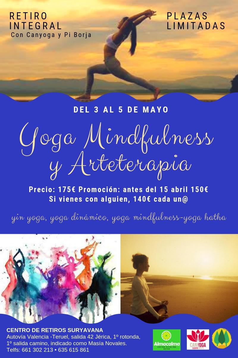 Retiro de Yoga Mindfulness y Arteterapia
