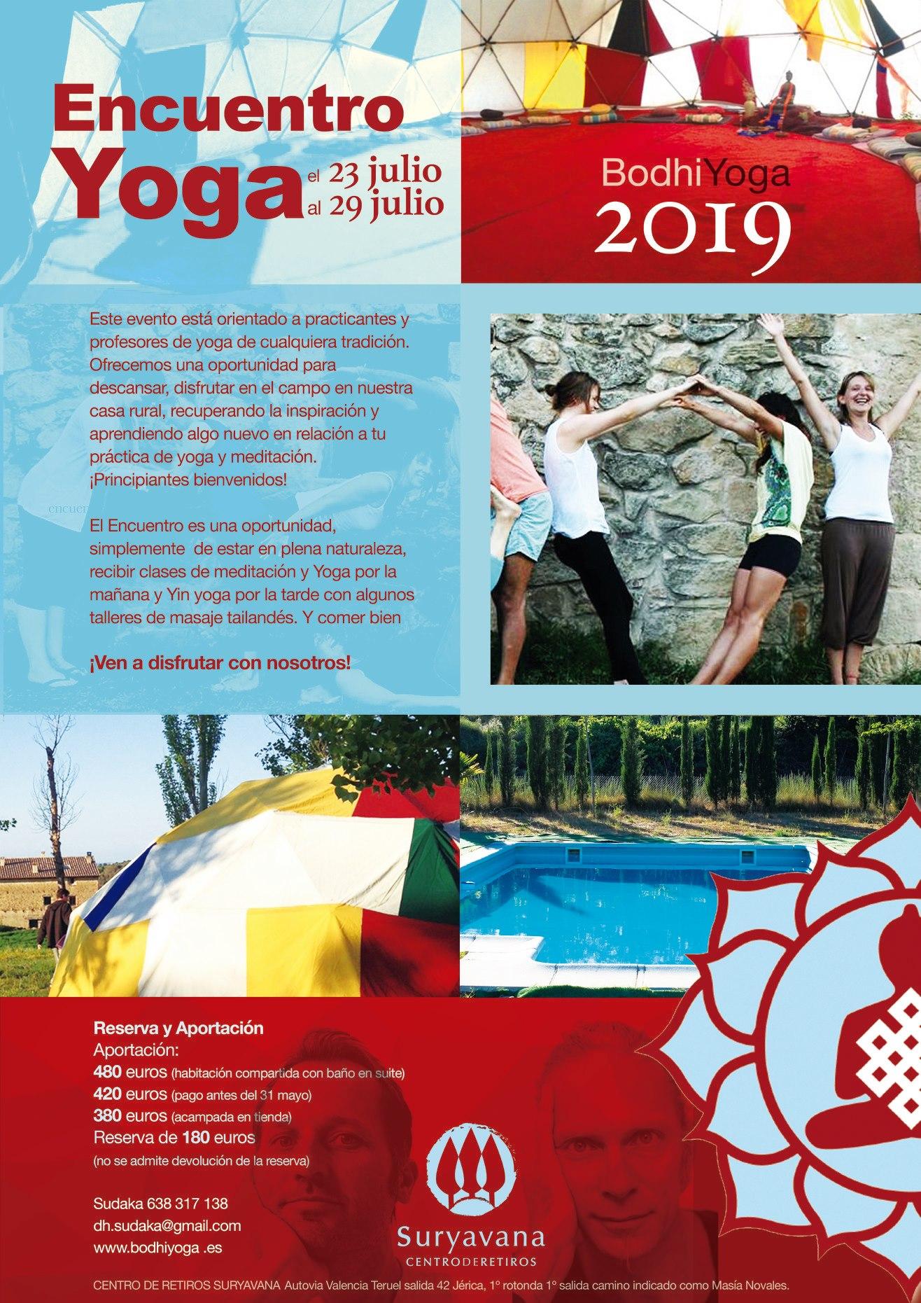 Encuentro Yoga 2019