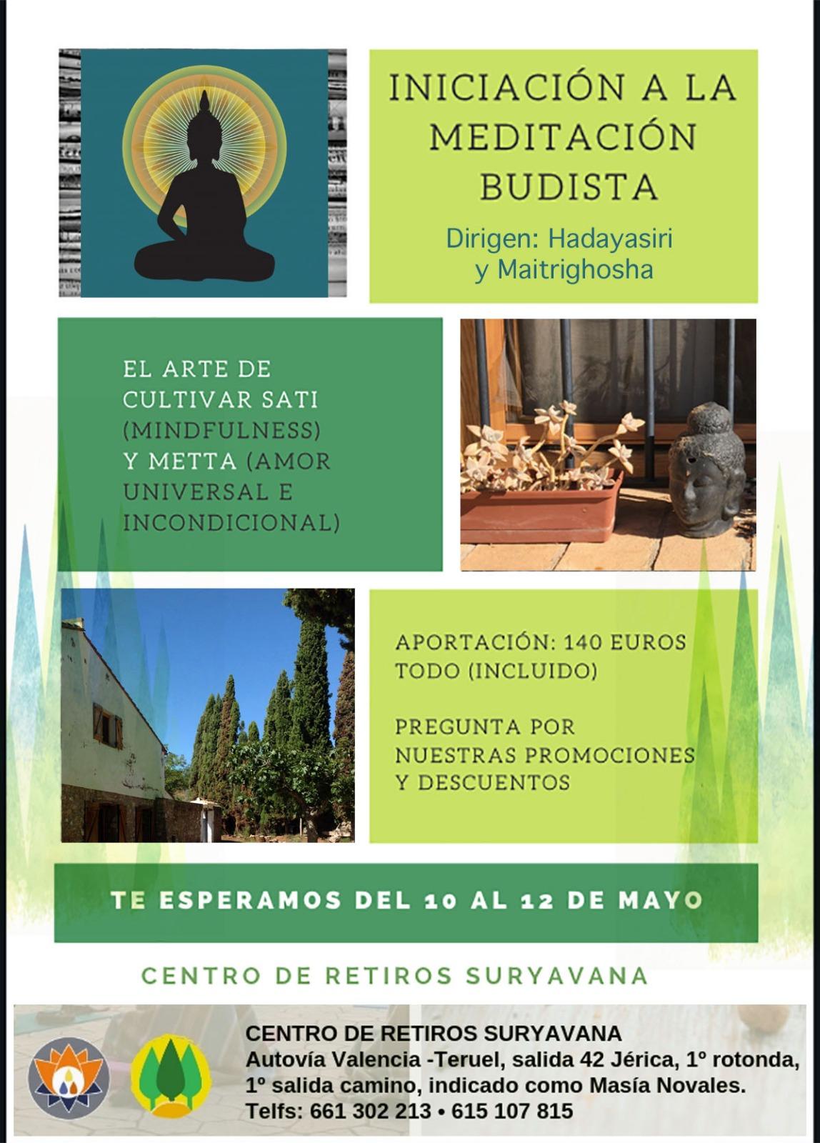 Iniciación a la Meditación Budista