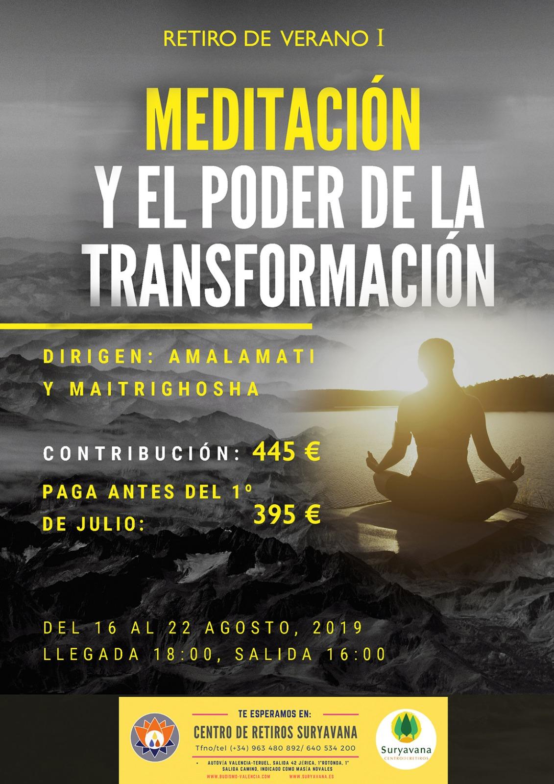 La Meditación y el poder de transformación