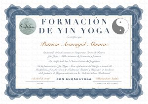yin yoga certificado