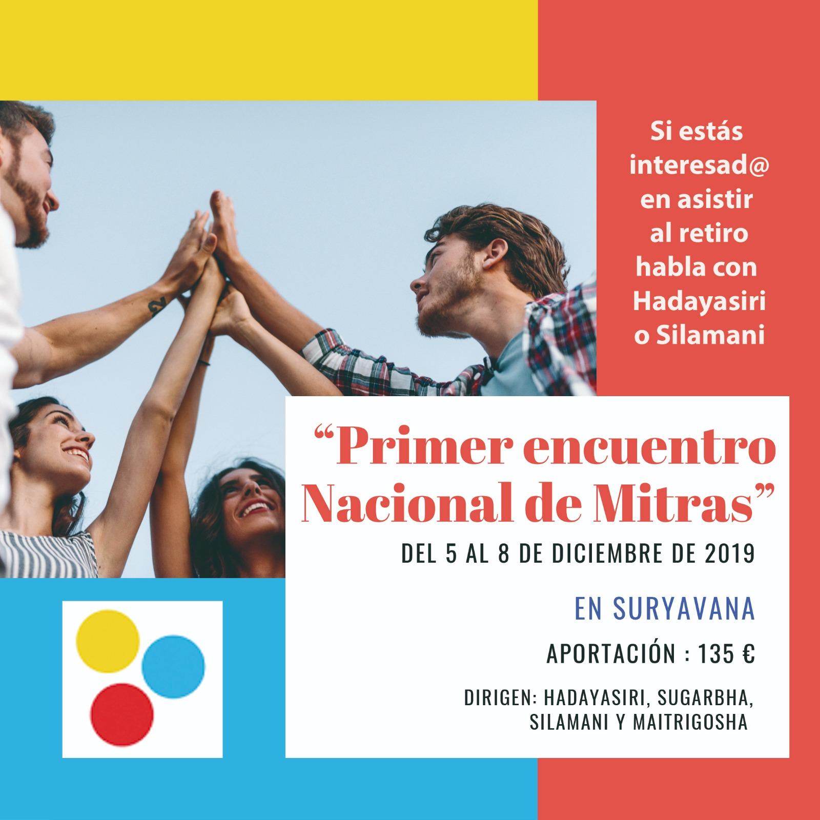 Primer Encuentro Nacional de Mitras