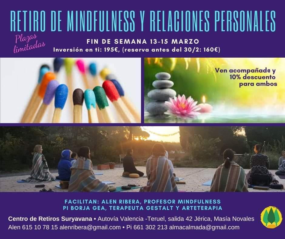 """Retiro de Mindfulness y Relaciones Personales, """"La comunicación amable"""""""