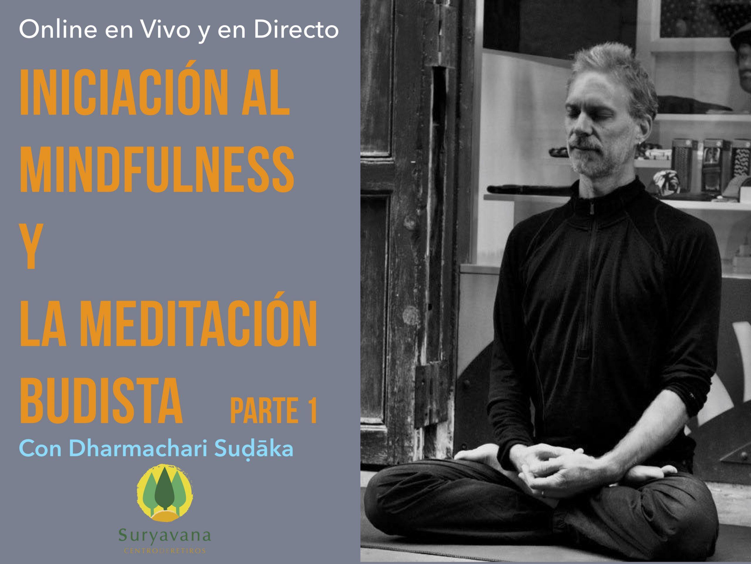 Iniciación al Mindfulness y la Meditación Budista -Online
