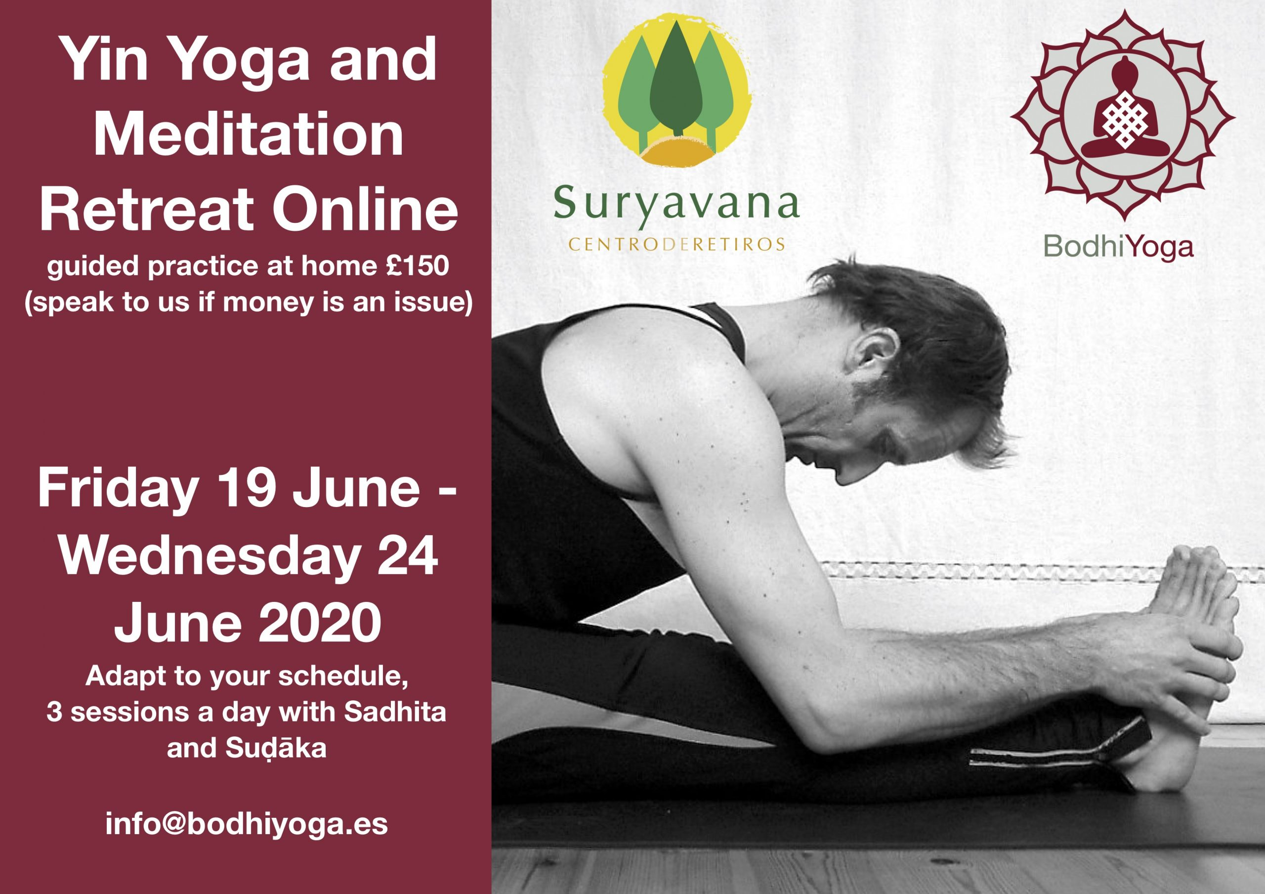 Online Yin Yoga and Meditation Retreat (en inglés)