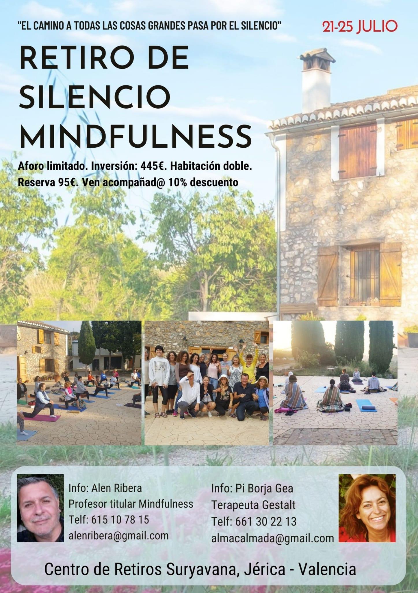 Retiro Silencio Mindfulness