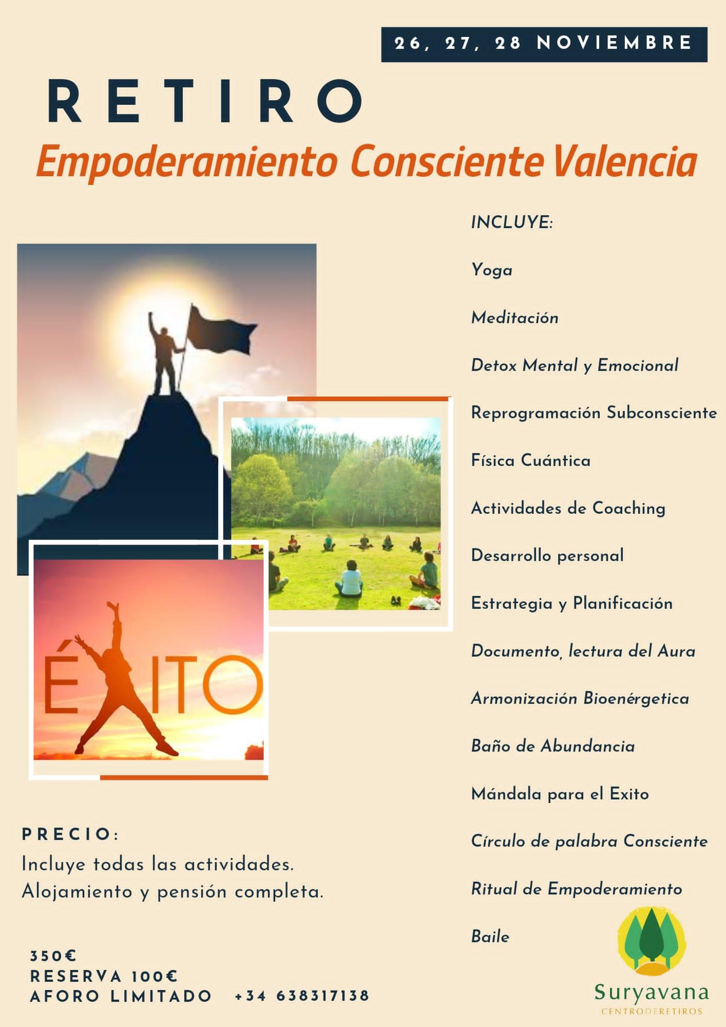 Retiro Empoderamiento Consciente Valencia